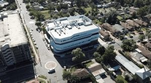 aerial view image of Kingswood centre